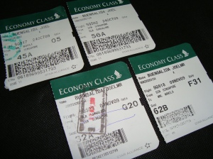 Two-way tickets